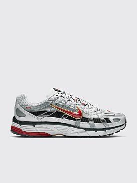 Nike P-6000 White / Varsity Red