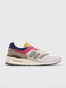 New Balance x Aimé Leon Dore M997 Grey / Yellow