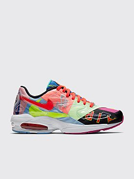 Nike x Atmos Air Max2 Light QS Black / Bright Crimson