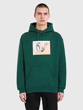 Fucking Awesome Septum Hooded Sweatshirt Green
