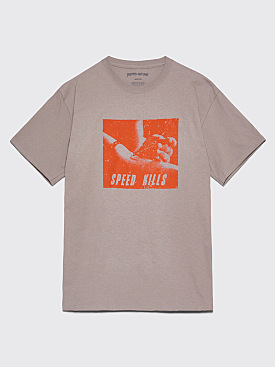 Fucking Awesome Speed Kills T-Shirt Medium Grey
