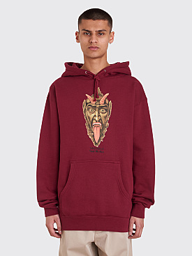 Fucking Awesome Trouble Hooded Sweatshirt Cardinal Red