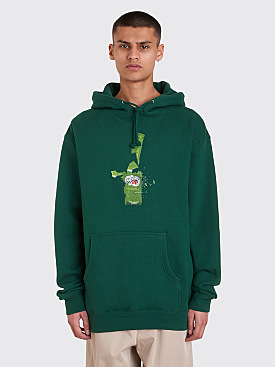 Fucking Awesome Fucked Up Hooded Sweatshirt Dark Green