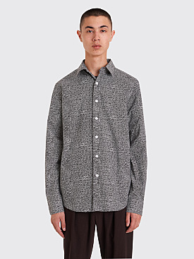 Fucking Awesome All Over Dress Shirt Black