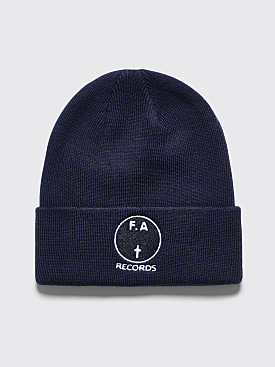 Fucking Awesome FA Records Beanie Navy