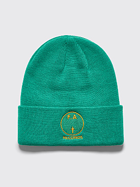 Fucking Awesome FA Records Beanie Green