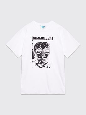 Gimme Five Mask T-shirt White