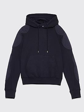 GmbH Renwhar Hooded Fleece Sweatshirt Navy