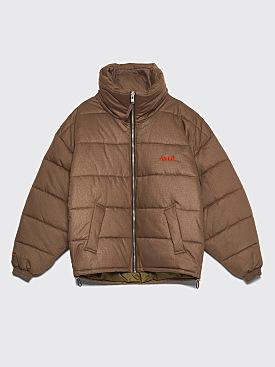 GmbH Debs Cotton Ripstop Puffer Jacket Khaki