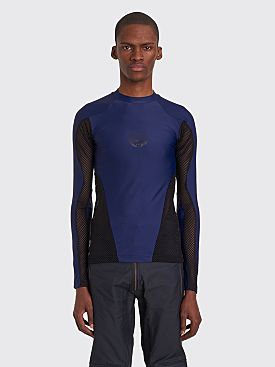 GmbH Mesh LS T-shirt Dark Blue