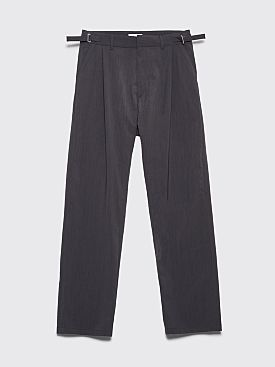 GmbH Tarek Pleated Wide Pants Anthracite