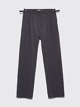 GmbH Tarek Pleated Wide Pants Anthracite