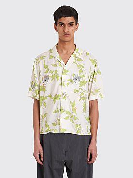 GmbH Luka Bowling Shirt White Print