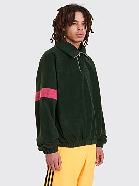 Gosha Rubchinskiy Fleece Track Top Green