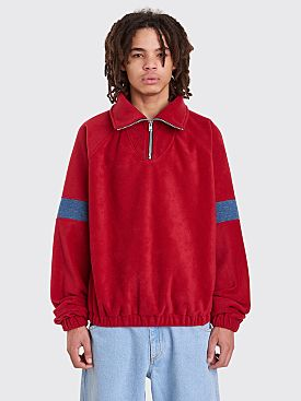 Gosha Rubchinskiy Fleece Track Top Red