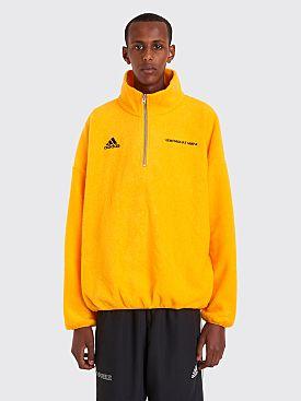 Gosha Rubchinskiy Adidas Fleece Top Yellow
