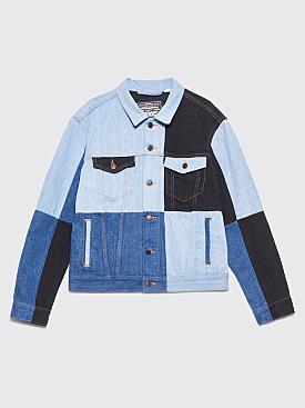Gosha Rubchinskiy x Levi's Patchwork Jeans Jacket Indigo