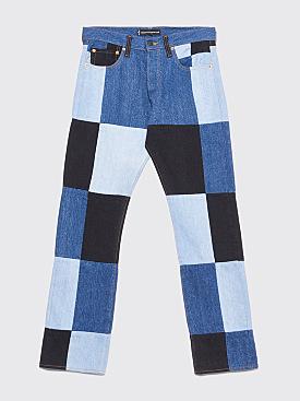 Gosha Rubchinskiy x Levi's Patchwork Jeans Indigo