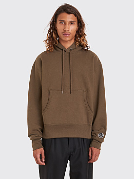 Gosha Rubchinskiy Hooded Sweatshirt Army Green
