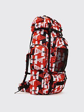 Gosha Rubchinskiy Large Graphic Backpack
