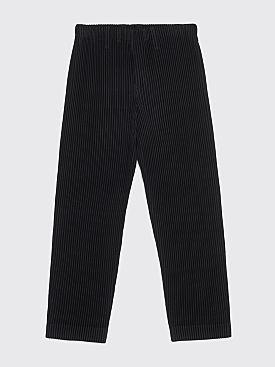 Homme Plissé Issey Miyake Pleated Narrow Pants Black
