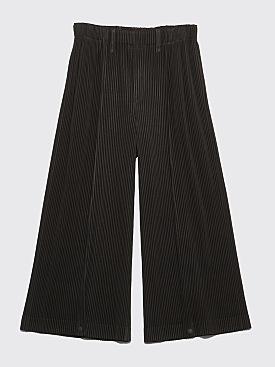 Homme Plissé Issey Miyake Pleated Wide Pants Grey
