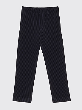 Homme Plissé Issey Miyake Pleated Narrow Pants Black