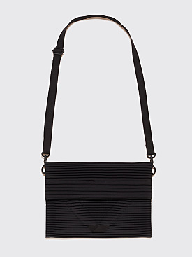Homme Plissé Issey Miyake Pleated Shoulder Bag Black
