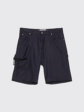 Jacquemus Gadjo Shorts Dark Navy