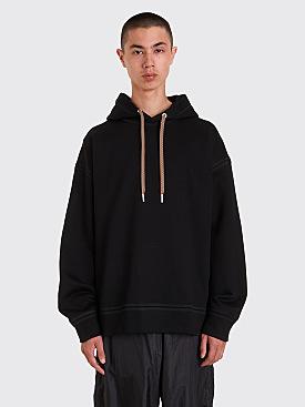Jil Sander Hooded Sweatshirt Black
