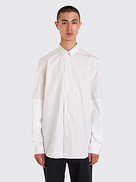 Jil Sander Rispetto Shirt White / Beige Stripe