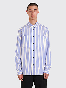 Jil Sander Ribelle Shirt Blue / White Stripe