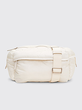 Jil Sander Climb White Belt Bag