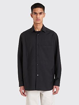 Jil Sander Sincera Wool Shirt Black
