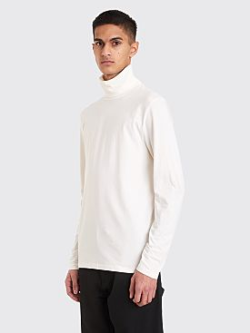 Jil Sander Turtleneck LS T-shirt White
