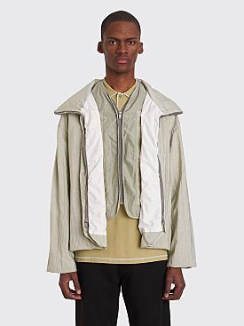 Jil Sander Suez GD Zip Jacket Light Pastel Green