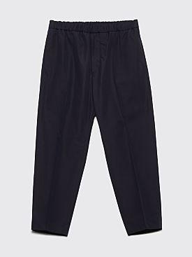 Jil Sander R-Priamo Poplin Pants Dark Navy