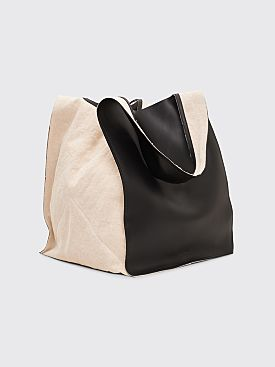 Jil Sander Square Market Bag Black