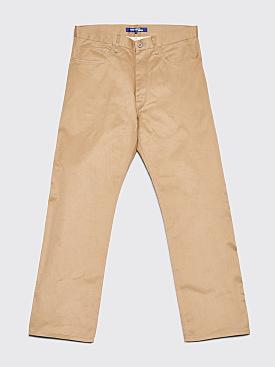 Junya Watanabe MAN Reflective Patch Pants Beige