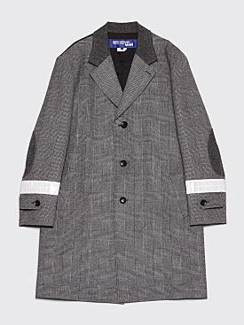 Junya Watanabe MAN Checkered Houndstooth Tweed Coat Black / Grey
