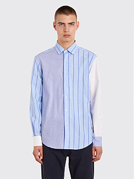 JW Anderson Panelled Classic Shirt Powder Blue