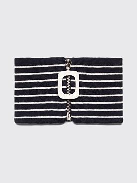 JW Anderson JWA Stripe Neckband Navy