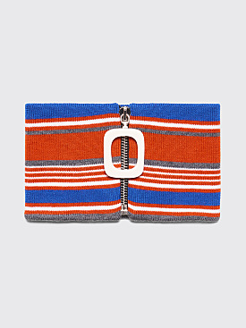 JW Anderson JWA Stripe Neckband Burnt Orange
