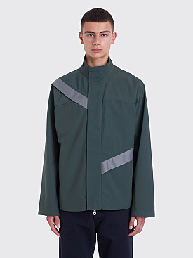 Kiko Kostadinov Gaetan Cut Through Jacket Green