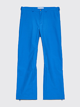 Kiko Kostadinov Gaetan Contrast Strap Pants Cobalt Blue