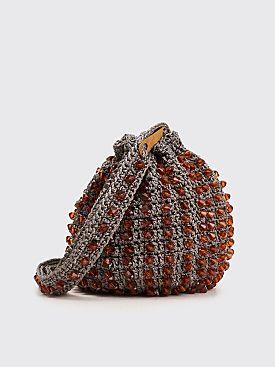Kiko Kostadinov Crochet Bag Grey
