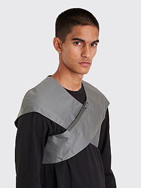 Kiko Kostadinov Cross Front Bag Vest Dim Grey