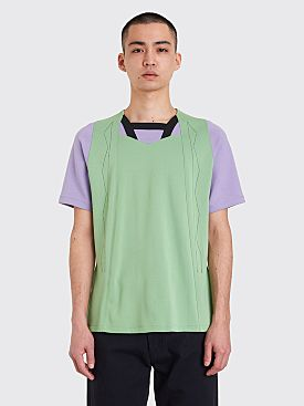 Kiko Kostadinov Kutch Top Celadon Green / Lilac