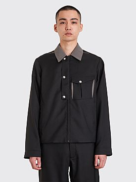 Kiko Kostadinov Kafka Zip Blouson Pitch Black