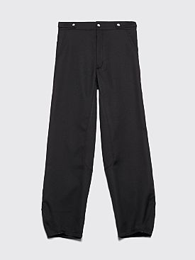 Kiko Kostadinov Tajima Wide Pants Pitch Black